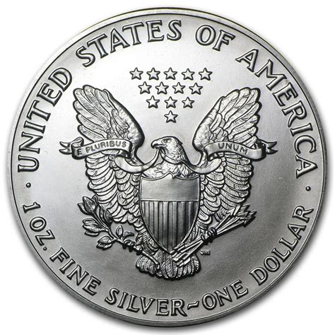 1 oz silver eagle 1992 american silver eagle 1oz coin from u s mint bu