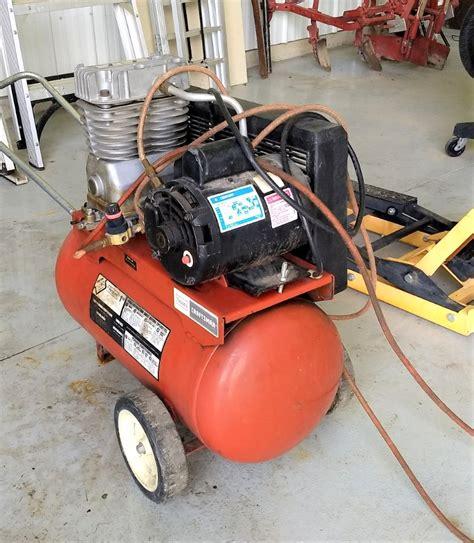 sears craftsman air compressor river valley estate sales llc