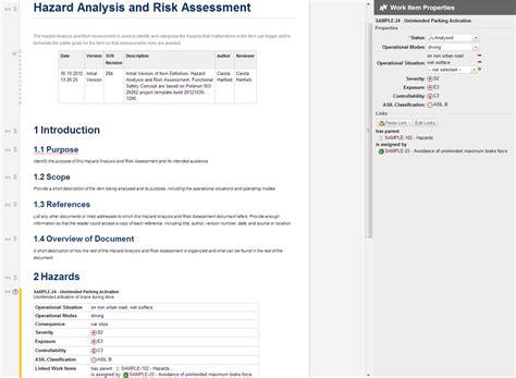 Hazard Assessment Template Resume Template Sle Activity Hazard Analysis Template Excel