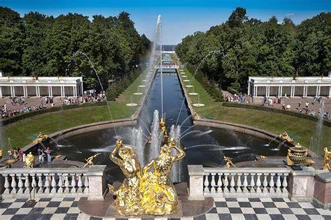 peterhof park and gardens st petersburg