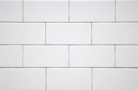 tile pattern running bond white subway tile in running bond layout with white