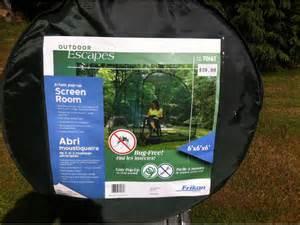 outdoor escapes pop up screen room cobble hill cowichan