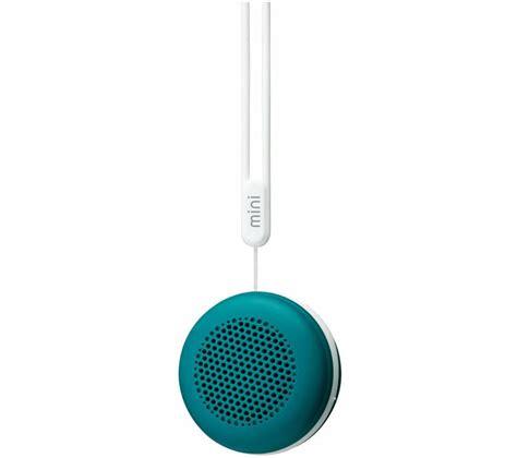 Speaker Mini Portable buy goji mini portable wireless speaker teal blue free delivery currys
