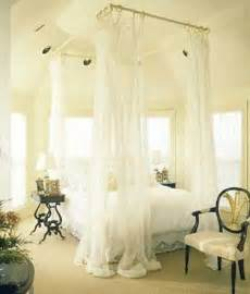 Do It Yourself Canopy Bed Curtains Diy Canopy Bed Install Curtain Rods On The Ceiling