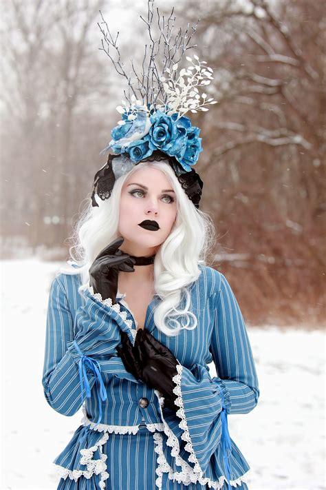 picture snow pretty girl winter woman cold