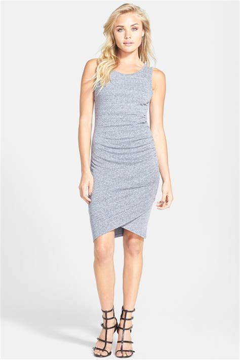 Tank Dress 20 by Leith Ruched Bodycon Tank Dress Nordstrom Rack