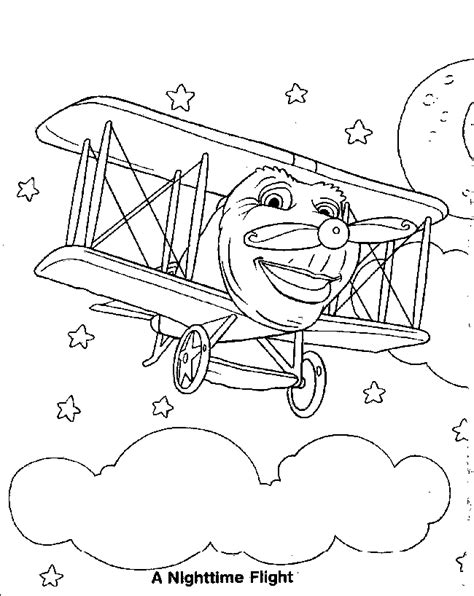 jay jay the jet plane coloring pages coloring home