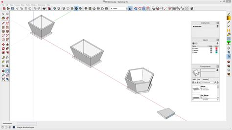sketchup for woodworkers sketchup for woodworkers creating compound miter joints