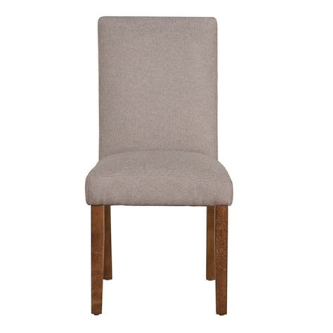 Taupe Dining Chairs Linen Dining Chairs In Taupe Set Of 2 Da6297