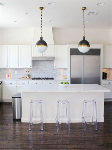 Kitchen Island Bases acrylic bar stools for those with nothing to hide