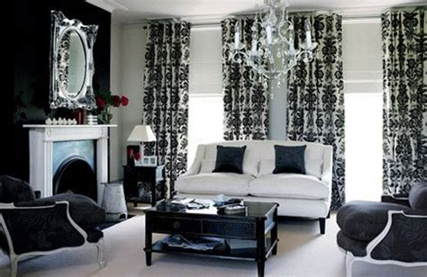 black and white curtains for living room black and white living room design ideas