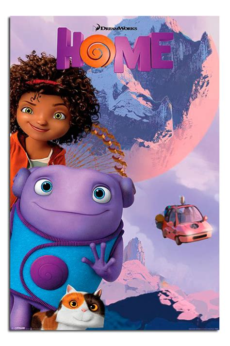 home moon dreamworks poster new maxi size 36 x 24