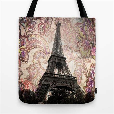 In Which City The Eiffel Tower Tote Shakes Things Up A Bit by Floral Eiffel Tower Tote Bag Products Floral And Eiffel