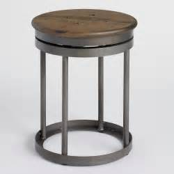 Decor For Dining Room Table Galvin Industrial Stool World Market