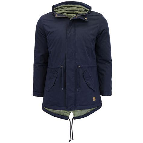 Jaket Parka Canvas Premium Fullblack mens jacket tokyo laundry parka canvas coat padded hooded