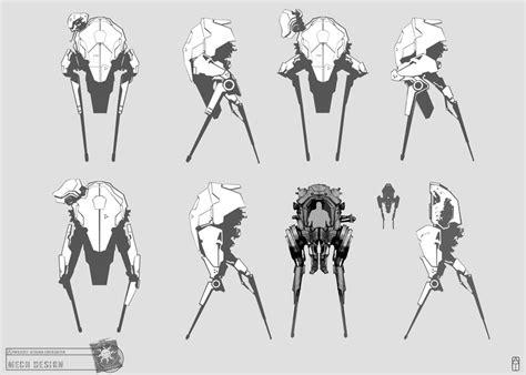 sketch book vk concept riddick aoda mech sketches by torvenius on