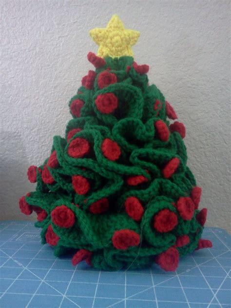 225 rbol de navidad hiperb 243 lico crochet christmas trees