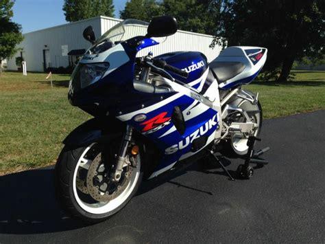 2003 Suzuki 750 Gsxr Buy 2003 Suzuki Gsxr 750 Sport Bike On 2040 Motos