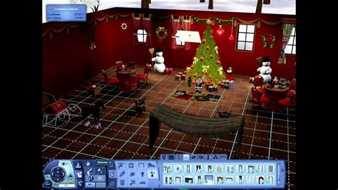 the sims 3 building christmas decorations youtube