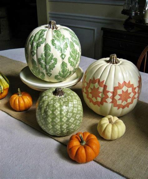 decorative pumpkins 44 pumpkin d 233 cor ideas for home fall d 233 cor digsdigs