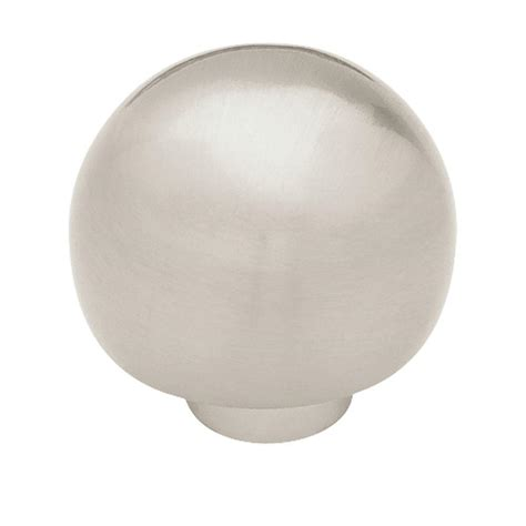 liberty 1 1 4 in satin nickel hollow cabinet knob p11747v sn c liberty 1 1 4 in satin nickel ball top cabinet knob