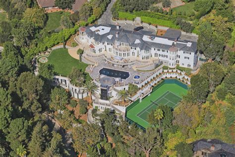 bel air mansion the bel air estate once owned by kenny rogers sells for
