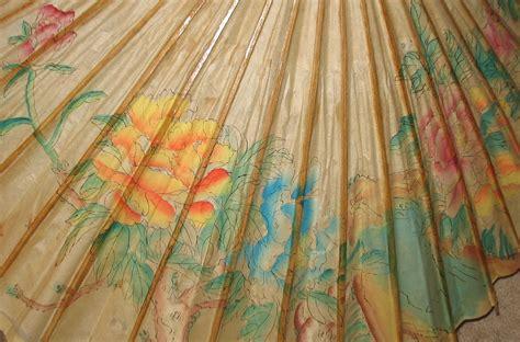 Paper From Bamboo - vintage bamboo paper parasol umbrella parasols