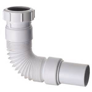 B Q Design Your Own Kitchen Connector Waste Pvc Abey 50mm Trap Flxz22up Bunnings