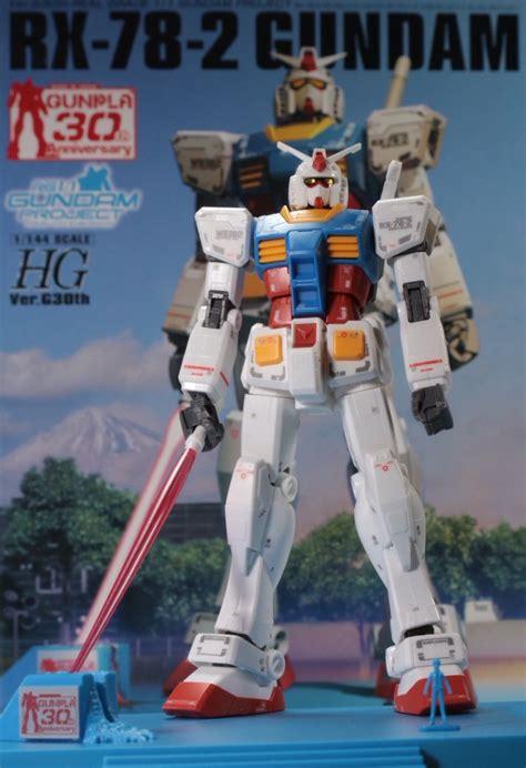 Hg Rx 78 2 Ver G30th Rg Gundam Project Review 1 144 Rx 78 2 Gundam Ver G30th Real Grade 1 1