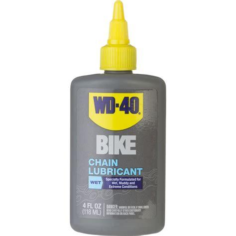 WD 40 Bike Wet Chain Lubricant 4oz