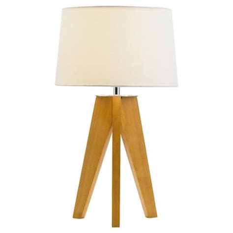 Next Table Lamps by Buy Tesco Lighting Tripod Wooden Table Lamp From Our Table