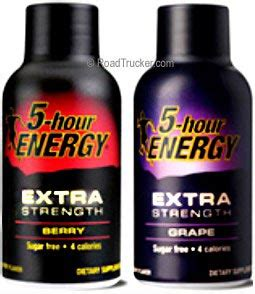 3 hour energy drink 2oz 5 hour energy strength drinks w vitamin b and