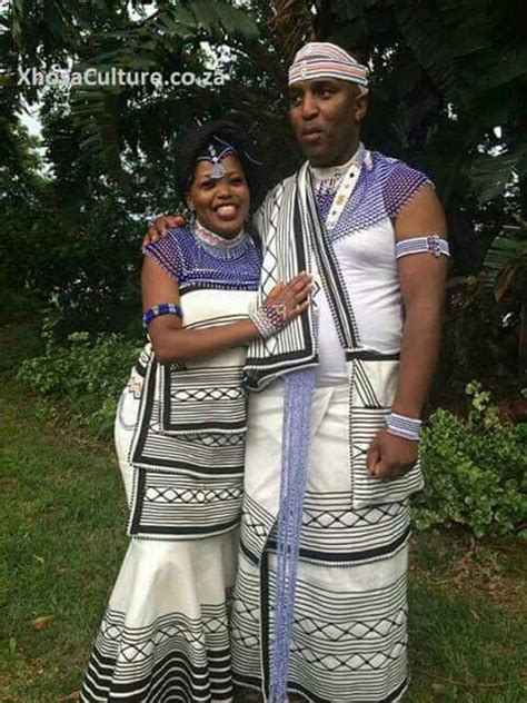 Wedding Attire For Couples by Xhosa Attire For Couples