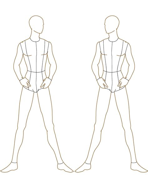 male fashion figure