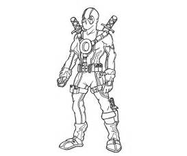 deadpool coloring pages printable deadpool coloring pages coloring me