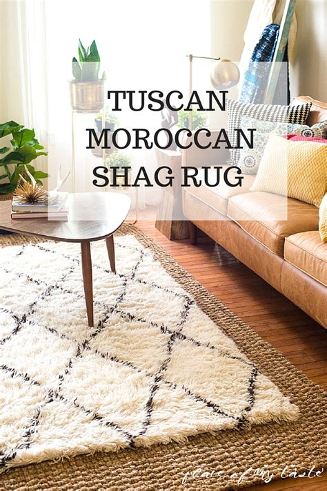 tuscan moroccan rug tuscan moroccan shag rug in the living room
