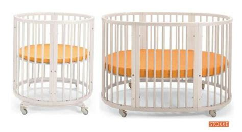 Oval Shaped Crib by 16 Beautiful Oval Baby Cribs For Unique Nursery
