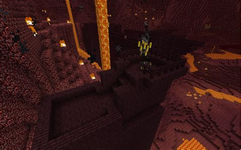 Minecraft Guide To The Nether The End image gallery nether dungeons