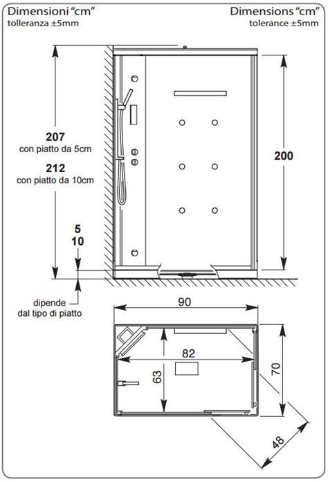 dimensioni doccia rettangolare doccia rettangolare dimensioni piatto doccia megaedile