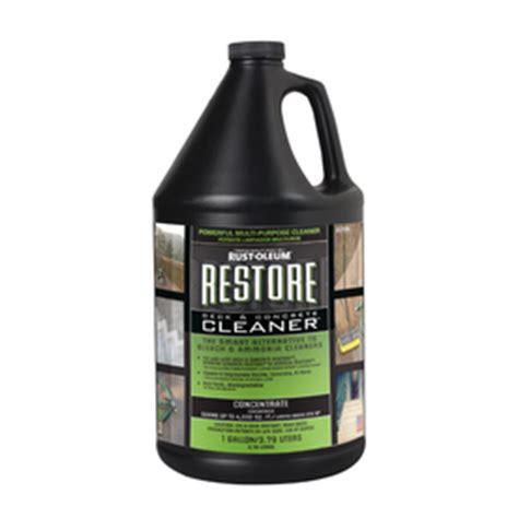 shop restore  gallon deck cleaner  lowescom