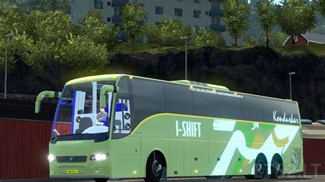 indian volvo bus mod  skins  volvo br br br passengers ets  mods
