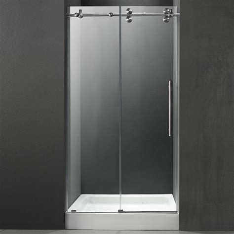 will quot white ice quot replace stainless steel as the new frameless shower door hardware kit 62 quot s s hardware