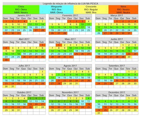 Calendario Lunar Outubro 2017 N 243 De Pesca Calend 225 Lunar 2017