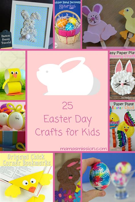 day crafts for 25 and easy easter day crafts for