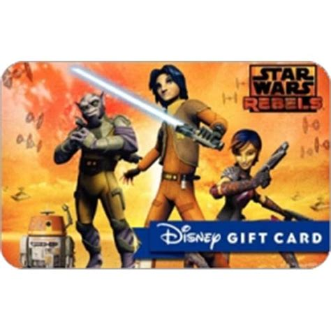 Star Wars Gift Cards - your wdw store disney collectible gift card star wars rebels