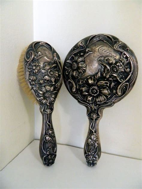 Antique Silver Vanity Set by 160 Best Images About Antique Silver Vanity Sets On