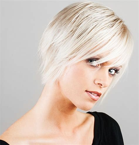 hair cuts for white hair types of platinum blonde and white hair