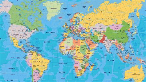 world map world political map 849707 walldevil