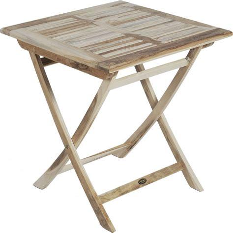 Gartentisch Quadratisch Holz by Gartentisch Java Teak Holz Quadratisch 70 X 70 Cm