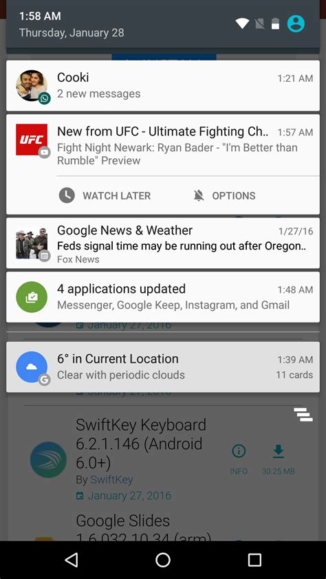 tutorial android notification youtube app adds watch later action to new upload
